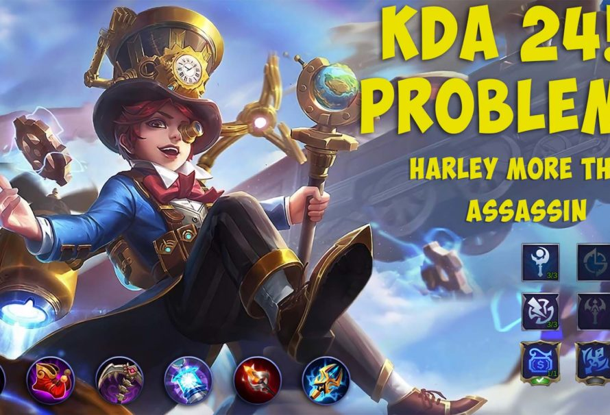 Harley Best Build on 2020 – Playing this game like Robots? This can cause to him 24 KDA